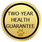 Two-Year Health Guarantee for puppies
